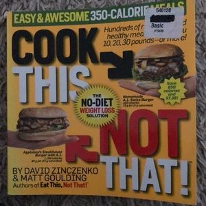 Other - Cook this, Not That book
